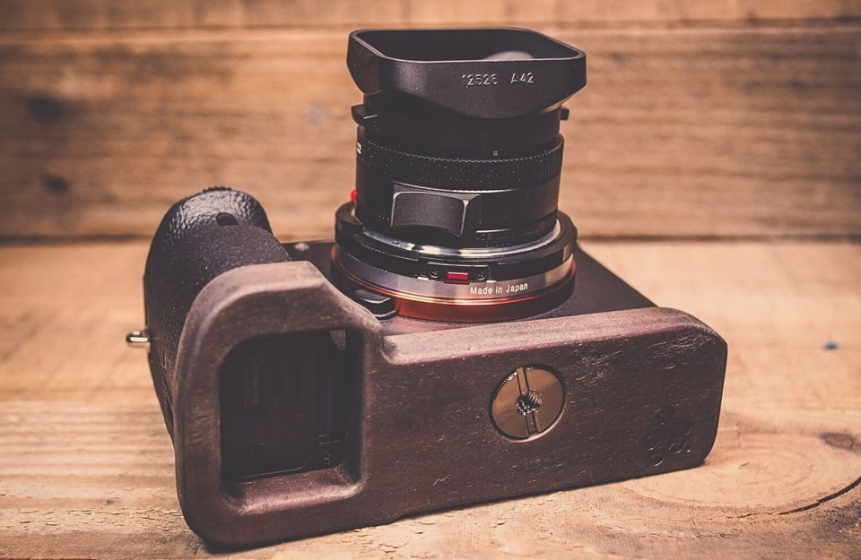 J.B. Camera Designs Pro Wood Grip Christmas Gift for Photographers