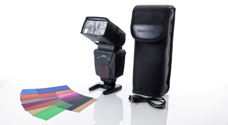 umoPro LP180 Official Strobist Flash Christmas Gift for Photographers