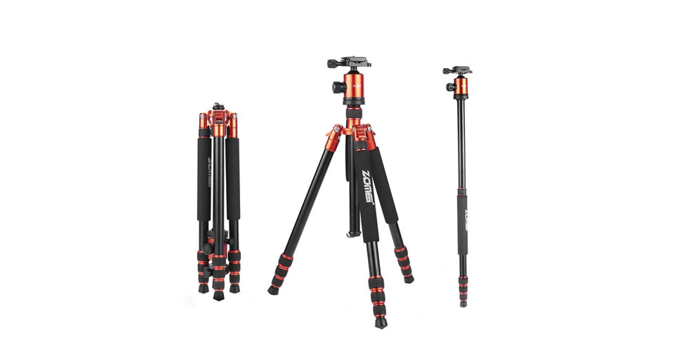 ZoMei Z818 Portable Tripod Christmas Gift for Photographers